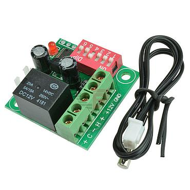 W170112V Adjustible Digital Display Temperature Controller