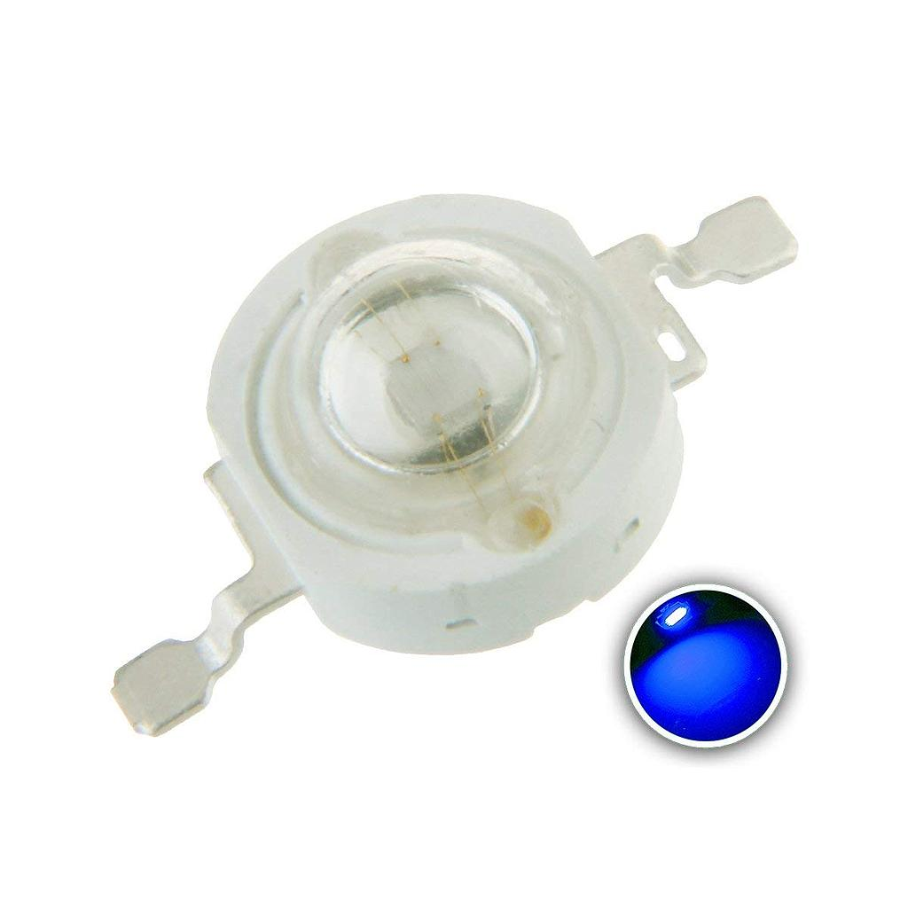 3W High Power LED Emitter (Royal) Blue 440-445-450-460-470nm for Plant Grow Light