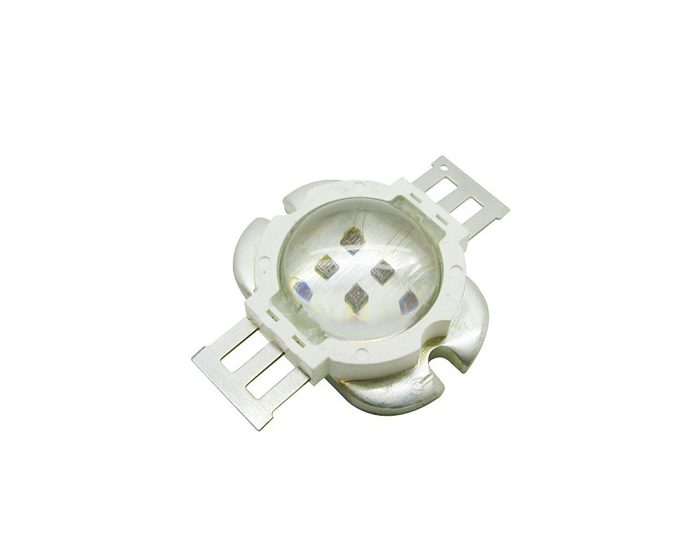 10W High Power LED Emitter IR 685-690nm/ 730-740nm/ 800-805nm/ 805-808nm/ 760-770nm/ 970-980nm/ 1000-1050nm LED Round Shape With Lens