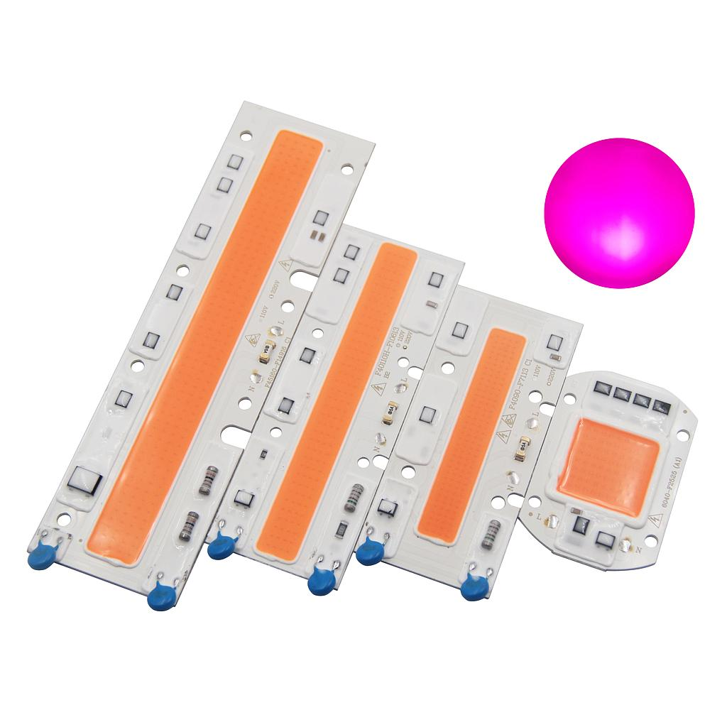 Full spectrum 380nm-840nm AC 220V 110V led driverless grow light cob chip for Indoor Plant Seedling Hydroponice Grow and Flower