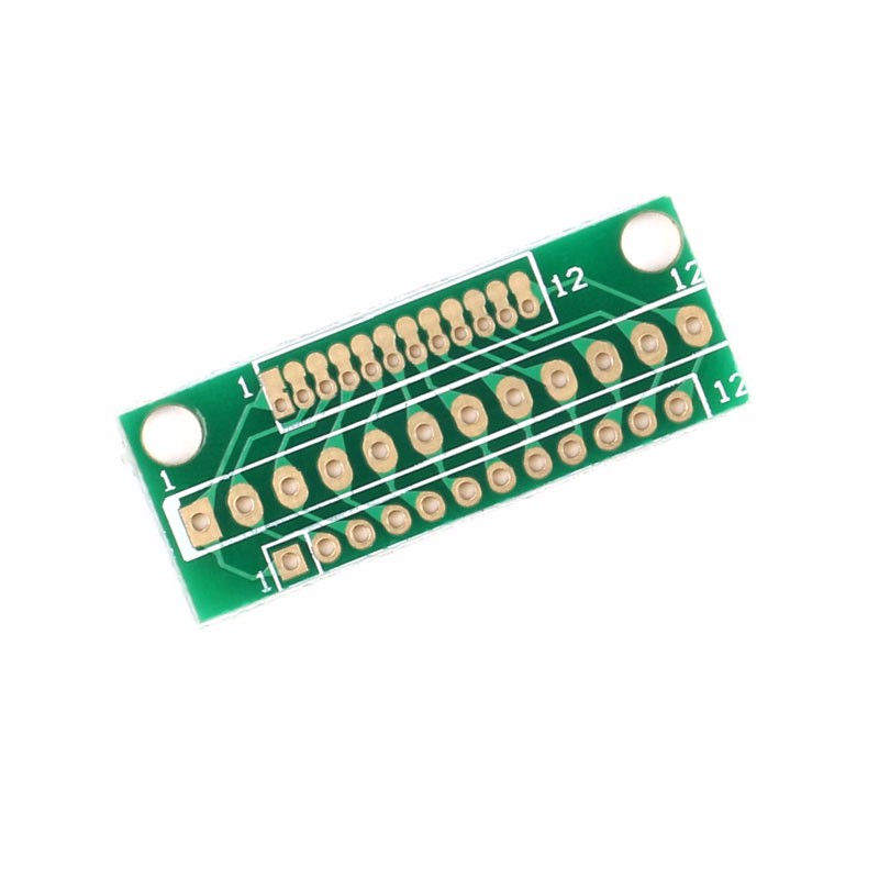 1.27MM 2.0MM 2.54MM 12 Pin Adapter Board For Wireless Modules