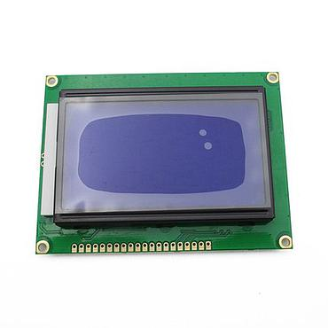 12864 128x64 LCD Display Screen Module Blue/Yellow Backlight 5V ST7920 for Arduino