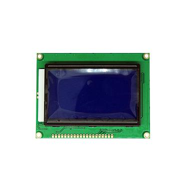 12864B LCD Display Modules Blue Screen with Backlight 5V ST7920