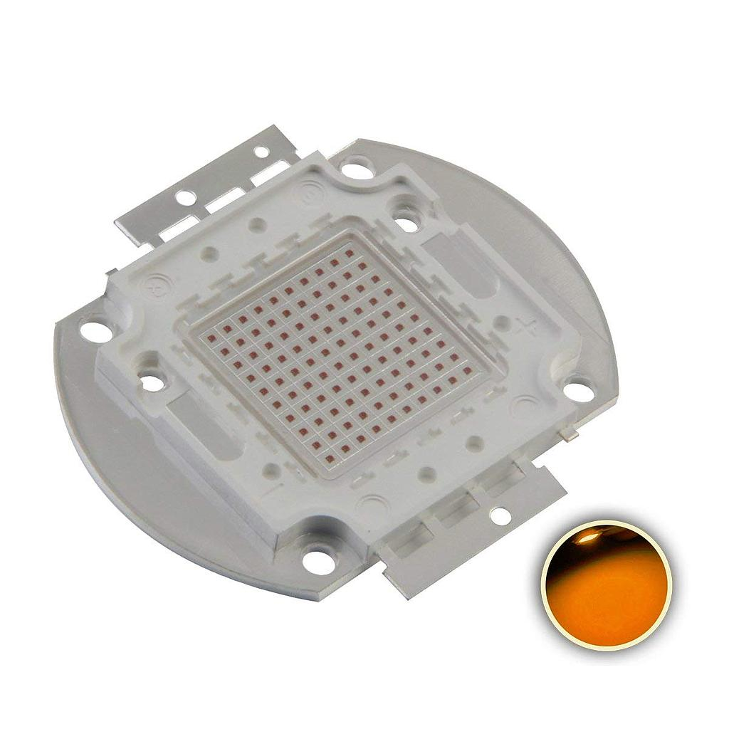 100W High Power LED Emitter Orange/ Amber/ Yellow/ Golden Yellow/ Pink / Full Spectrue