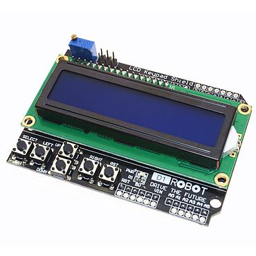 1602 Character LCD Input / Output Expansion Board / LCD Keypad Shield