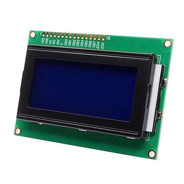 1604 Character LCD Display Module with Blue Backlight Color