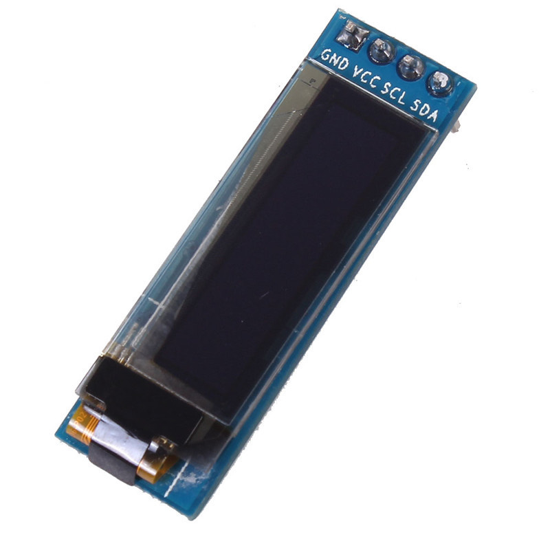 0.91inch OLED Display For Arduino White/Blue 128x32 OLED LCD IIC I2C