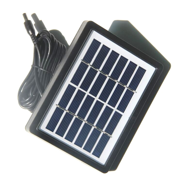 1.3W 6V Polysilicon Solar Panel Cell With Frame Battery Charger+3M Wire
