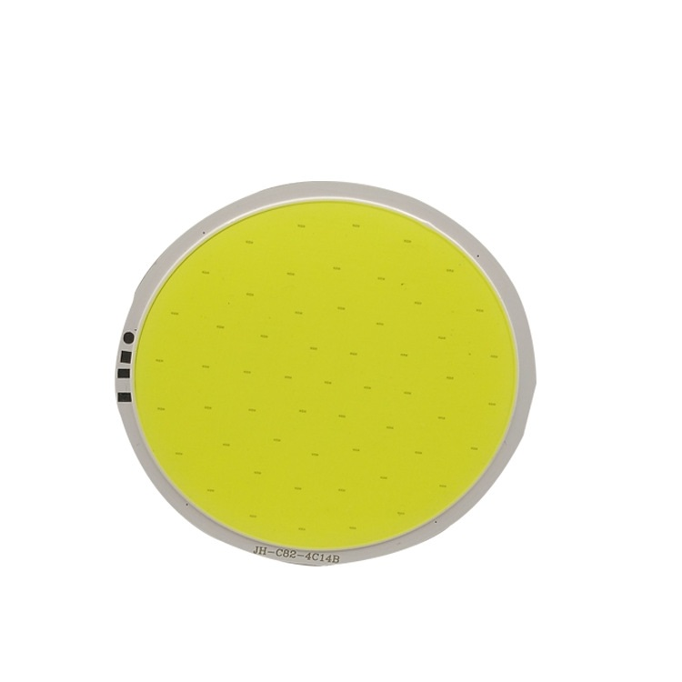 10W LED COB Module LED COB Round Panel DC 12V 400mA 82 mm PCB 75mm Emitting Area White