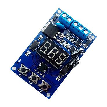 12V 24V Trigger Loop Timing Delay Module Switch Circuit MOS Tube Control Board