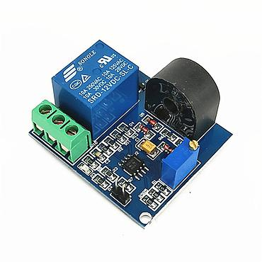 12V 5A Overcurrent Protection Relay Module AC Current Detection Sensor