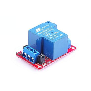 1 Channel Relay Module DC 30A 250V with Optocoupler Isolation Support High-level Triggered