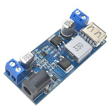24V/12V To 5V 5A DC-DC Step Down Power Supply Buck Converter Replace LM2596S