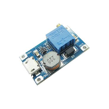2A 2-24V to 5/9/12/28V DC-DC Adjustable Boost Module