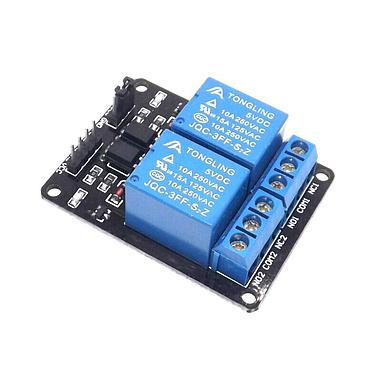 2 Channel Relay Module Control Board with Optocoupler 5V 12V