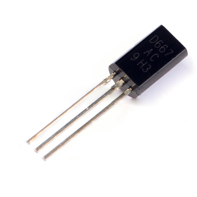 2SD667 TO-92L Triode Transistor 0.8A