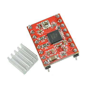 A4988 3D Printer Reprap Stepper Motor Driver Module with Heat Sink