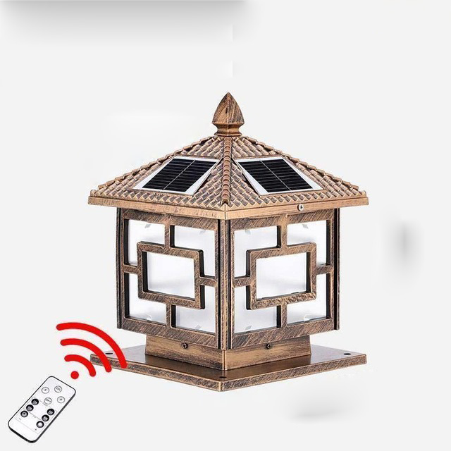 3W Solar LED Garden Light with Remote Control