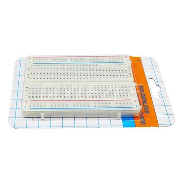 400 Point Half-Size Solderless Breadboard PCB Test Board for Arduino DIY