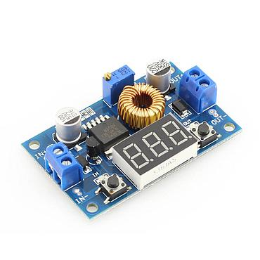 5A 75W XL4015 DC-DC adjustable step-down module (LED Voltmeter Power supply module)