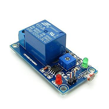 5V/12V Photosensitive Resistance Light Sensitive Sensor Relay Module Light Switch