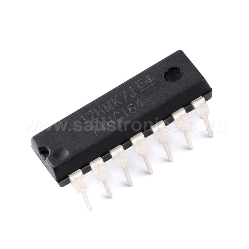 74HC164 8Bit Serial-In/Parallel-Out Shift Register DIP-14 IC
