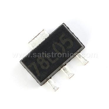 78L05 SOT-89 Three-terminal Linear Voltage Regulator