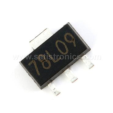 78L09 SOT-89 Three-terminal Positive Voltage Regulator