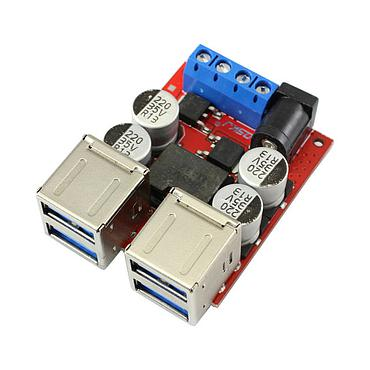 8V-35VTo 5V/8A DC-DC Power Supply Buck Module  Support Android/iPhone Phone Fast Charging