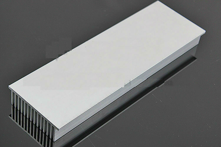 95*30mm Rectangular Aluminum Heatsink Comb Plate