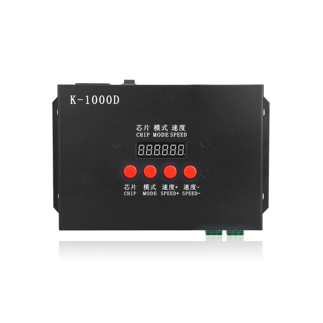 AC220V Input DMX SD Card Off-line LED Pixel Controller with Address Writing Function for Standard DMX512 Chip/DMX512AP-N/WS2821A