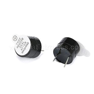 Active Buzzer 12V Electromagnetic SOT Plastic Tube Long Sound