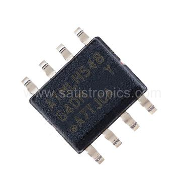 ATMEL Chip AT24C64D-SSHM-T SOIC-8 EEPROM Memory