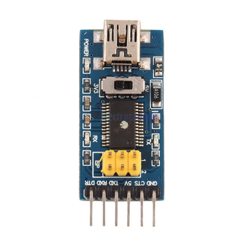 Basic Breakout Board For FTDI FT232RL USB To TTL Serial IC Adapter