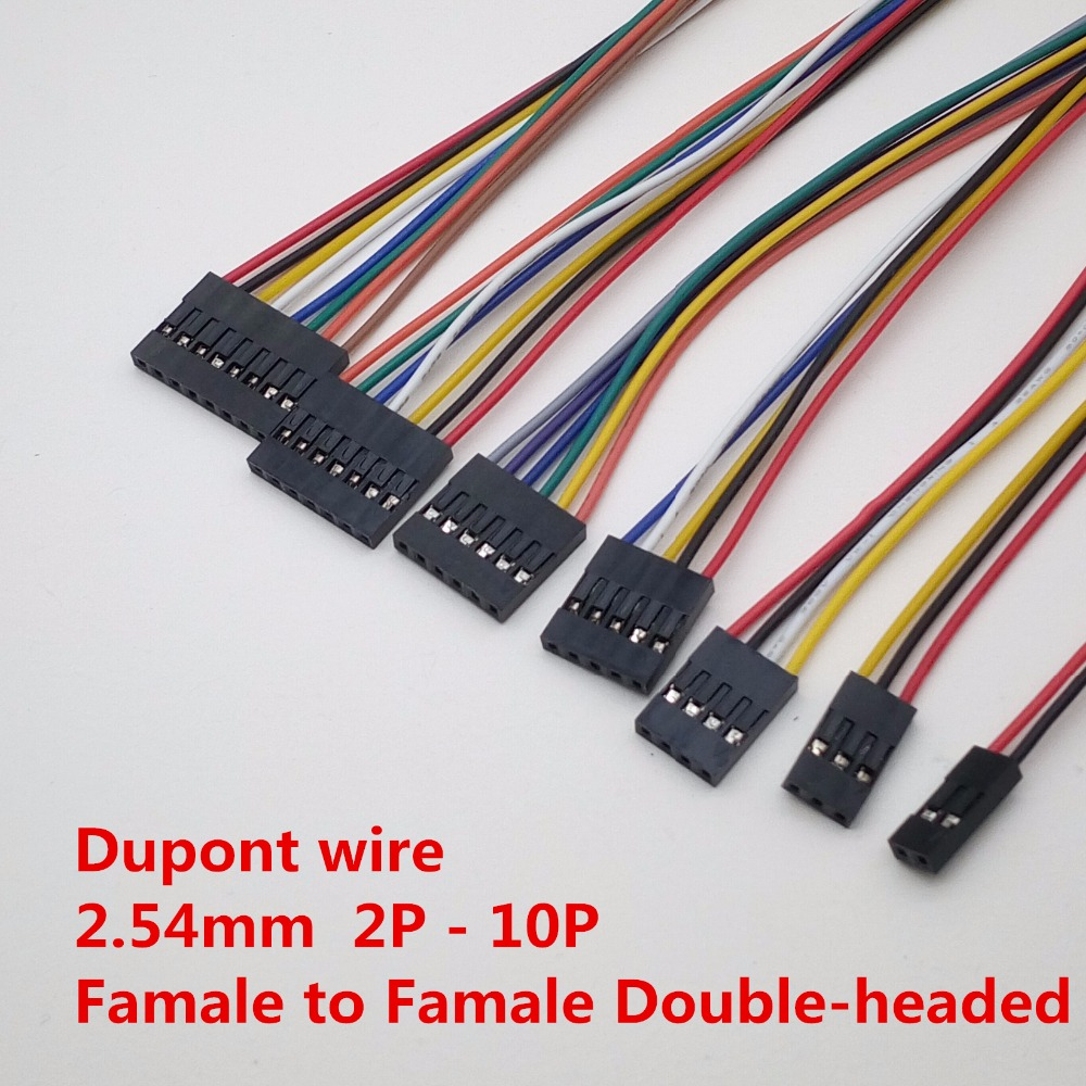 DUPONT LINE Female To Female Pitch 2.54mm 20cm Double Head