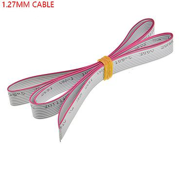 Grey Flat Ribbon Cable 1.27mm Pitch AWG28