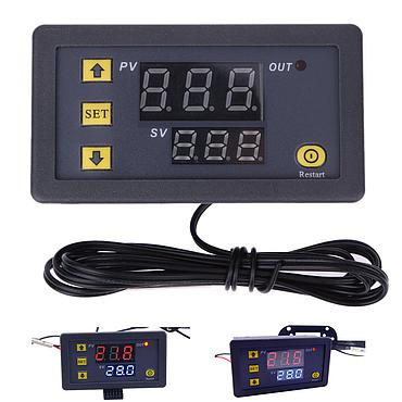 DC 12V 20A LCD Digital Thermostat Temperature Controller Meter Regulator W3230