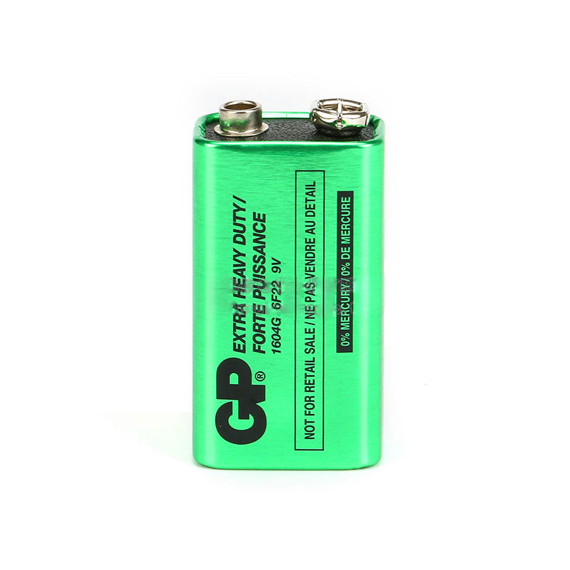 GP J51 6F22 9V Environmently Carbon batteries Stack Battery