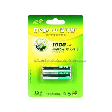Delipow 1000mAh 1.2V AAA Nickel Hydrogen Battery