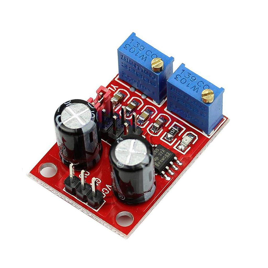 NE555 Duty Cycle and Frequency Adjustable Module Square Wave Signal Generator