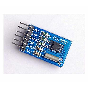 DS1302 Serial Real Time Clock RTC with Battery for Arduino and Raspberry Pi