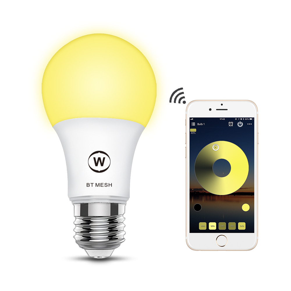 WiFi Smart Light Bulb 6.5W E27 lamp 2700-3500K