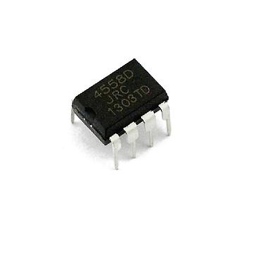 JRC4558D 4558D DIP8 Operational Amplifier Chip