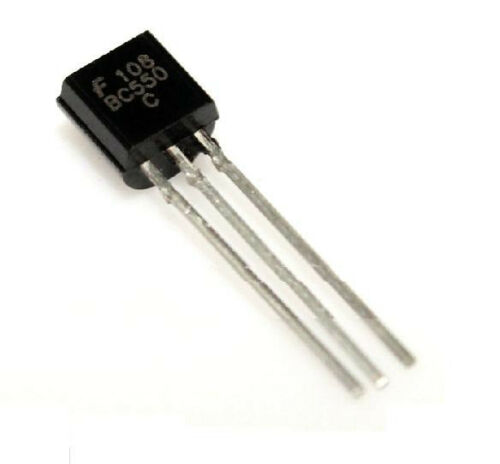 BC550C TO-92 NPN Low Signal General Purpose Transistor