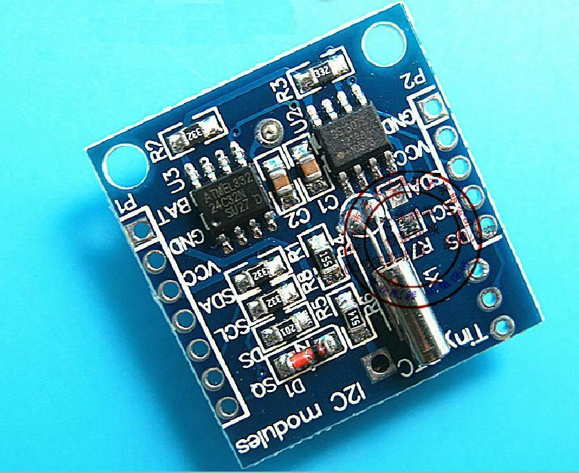 I2C Tiny RTC DS1307 Real Time Clock Module AT24C32 Board for Arduino AVR