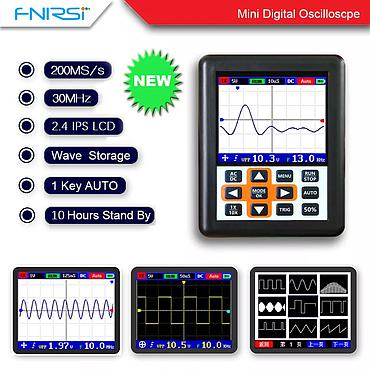 DSO FNIRSI 30MHz Analog Bandwidth 200MS Sampling Rate Handheld Mini Digital Oscilloscope