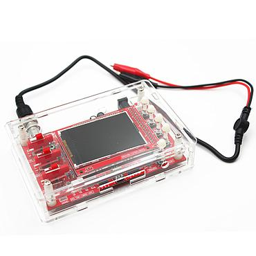 "FNIRSI-138 2.4"" TFT Handheld Mini Digital Oscilloscope Kit + DIY Acrylic Shell"