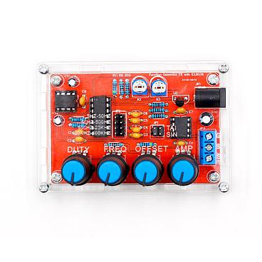 ICL8038 5Hz~400kHz Output Sine Triangle Square Sawtooth Adjustable Frequency Signal Generator DIY Kit