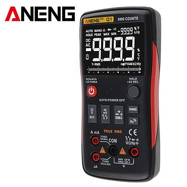ANENG Q1 True-RMS Digital Multimeter 9999 Counts with Analog Bar Graphic