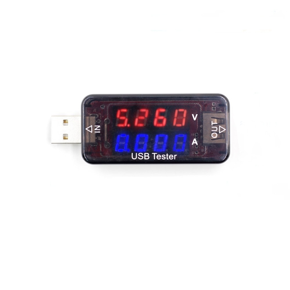 3.3V-30V Double Row Show USB Charger Tester Current Voltage Merter